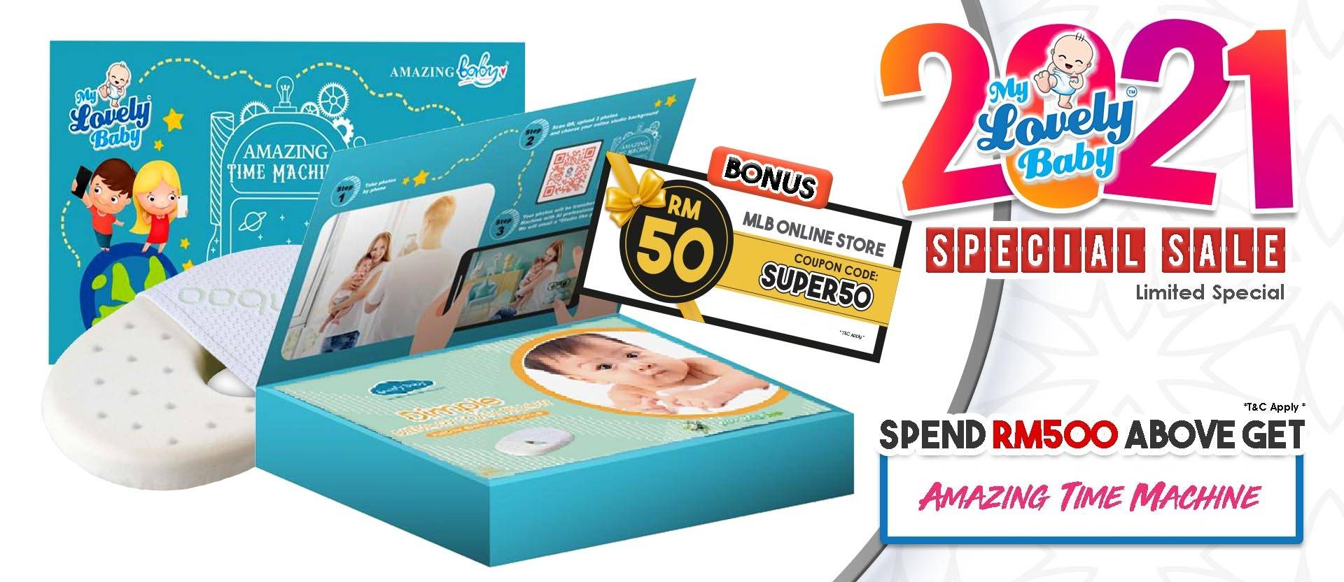 Free Amazing Box When Purchase RM 500