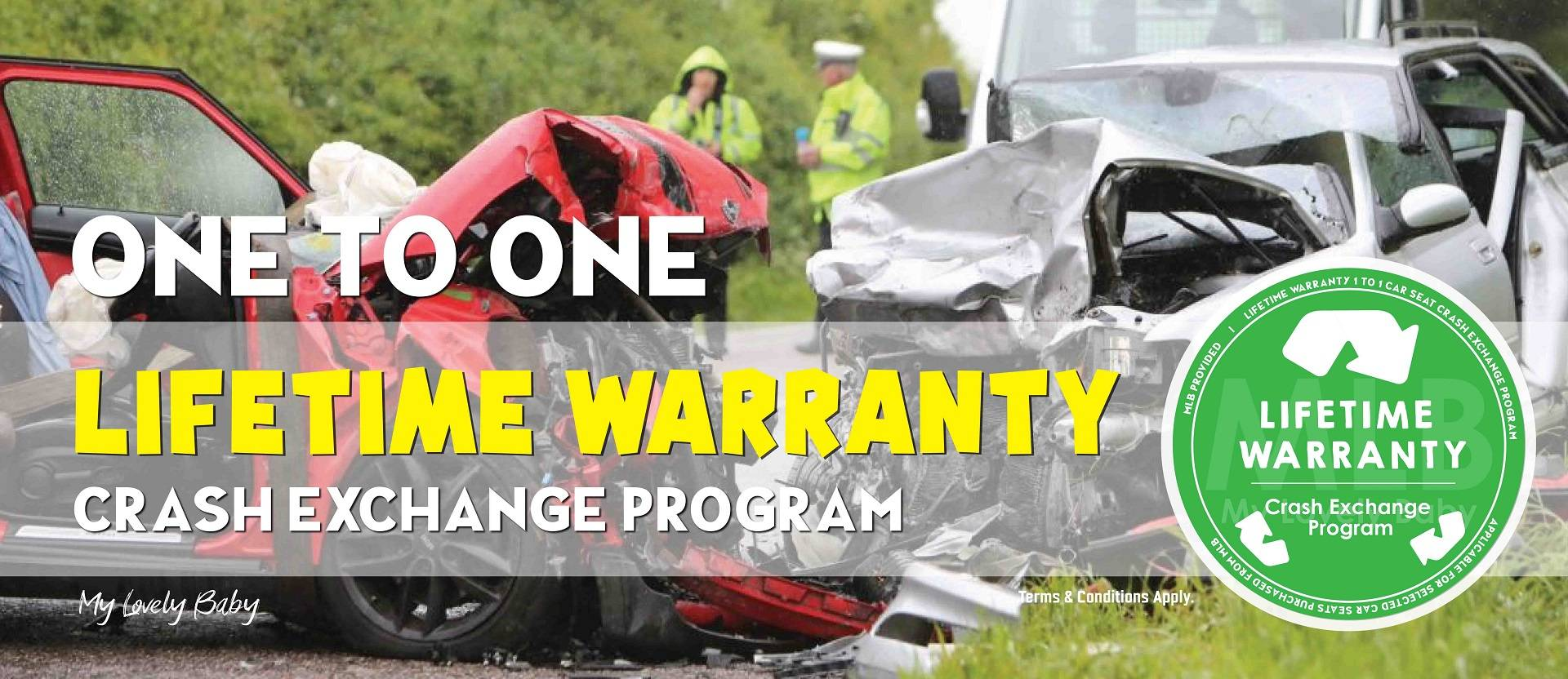 Car Seat Crash Lifetime Warranty