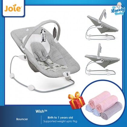 Joie Wish Bouncer (Free Comfy Baby Blanket)