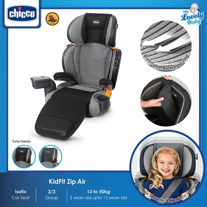 Chicco KidFit Zip Air Plus Isofix Booster Seat