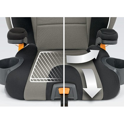 Chicco KidFit Belt Positioning Booster Seat (FOC Chicco Quasar Plus Booster Seat)