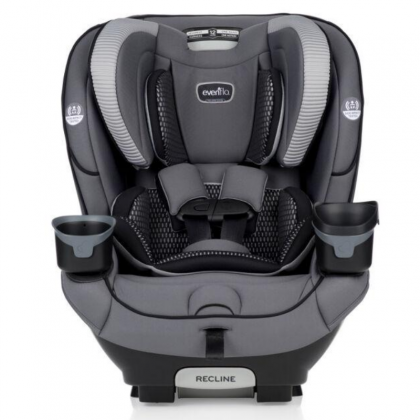 Evenflo EveryFit 4 in 1 Isofix Car Seat (FREE Little Royal Cabin Size Stroller)
