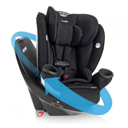 Evenflo Gold Revolve360 Spin Rotational All-In-One Car Seat (Free Evenflo GB Pilot)