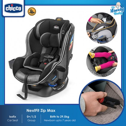 Chicco Nextfit Max Zip Air Isofix Car Seat with 1 Cup Holder